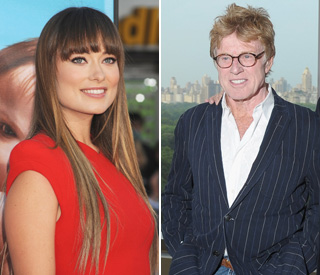 Olivia goes 'Wilde' for idol Robert Redford