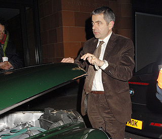 Rowan Atkinson hospitalised after motorway mishap