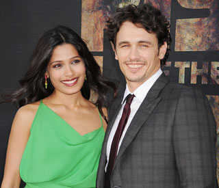 'James Franco is one of a kind' : Freida Pinto