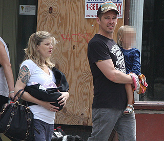 Ethan Hawke becomes a father for the fourth time