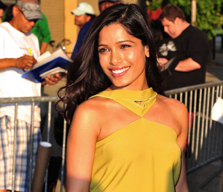 Freida Pinto torn between life in London and New York
