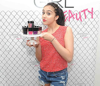 Mini mogul Lourdes Leon unveils new beauty range