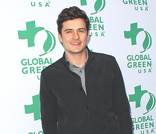 Orlando Bloom lends a hand to British butterflies