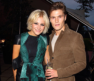 Pixie Lott cites her model beau as album inspiration