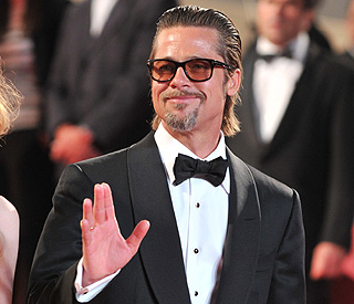 Brad Pitt brings zombie action to Glasgow
