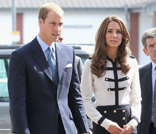 William and Kate comfort residents affected by riots