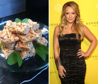 Hilary Duff already tackling pregnancy cravings