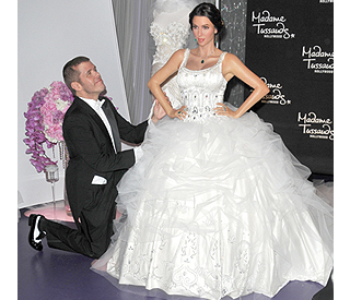 'First look' at Kim Kardashian in her wedding gown