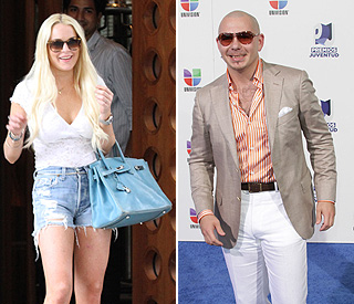 Lindsay Lohan suing rapper Pitbull over lyrics