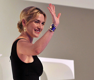 Kate Winslet invited to train with London Fire Brigade