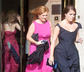 Duchess of York and her girls at £5-m F1 wedding
