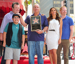 Modern Family's Ed O'Neill receives Hollywood star