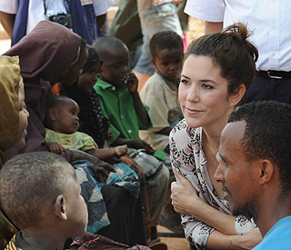 Crown Princess Mary's mercy mission to Africa