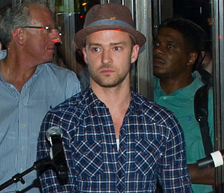 Celeb fans treated to free Justin Timberlake concert