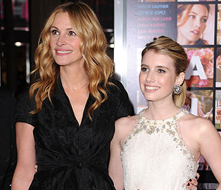 Emma Roberts inspired by aunt Julia, not dad
