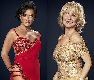 Evergreen beauties Nancy and Lulu waltz onto 'Strictly'