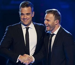Robbie Williams: X Factor's Gary is so competitive