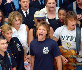 Jon Bon Jovi reprises 9/11 tribute song