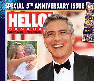 Exclusive: first pics of George Clooney and new love