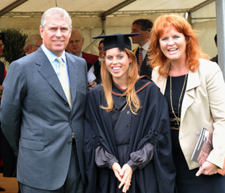 Princess Beatrice graduates in style