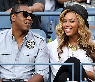 Pregnant Beyonce enjoys thrilling US Open final