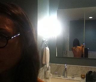 Demi Moore inspires followers with bare back pic