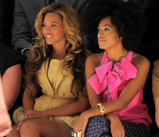 Girlie fun in the Big Apple for Beyonce and Solange