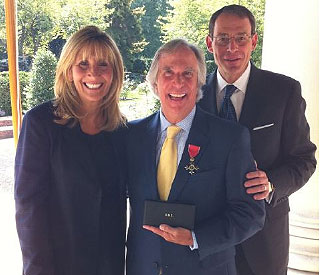 'The Fonz' awarded OBE by the Queen