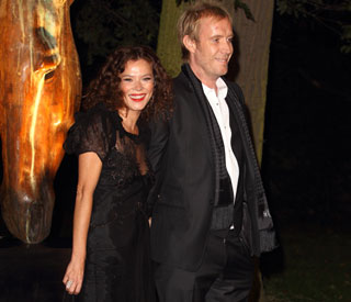 Rhys Ifans and Anna Friel make red carpet debut