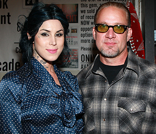 Kat Von D and Jesse James split for second time
