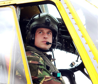 William wants to stay on as a pilot