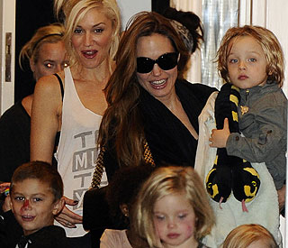 Jolie fun day: Angelina and kids visit Gwen Stefani