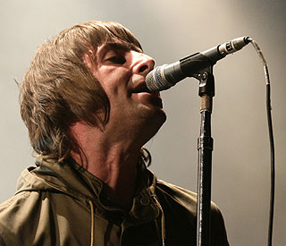 Age forces Liam Gallagher to warm up before gigs
