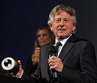 Roman Polanski 'moved' by Swiss honour after arrest