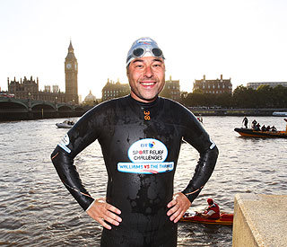 David Walliams still suffering effects of charity swim
