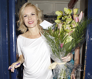 Amanda Holden sad to say goodbye to 'Shrek'