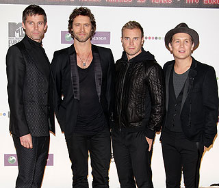 Take That back to a four-piece as Robbie 'takes break'