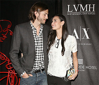 Demi Moore and Ashton Kutcher's show of solidarity