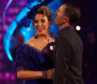 Edwina Currie first to slink off 'Strictly'