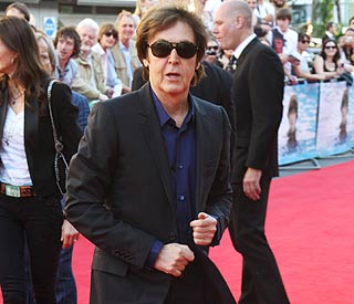 Newlywed Paul McCartney goes 'On The Run'