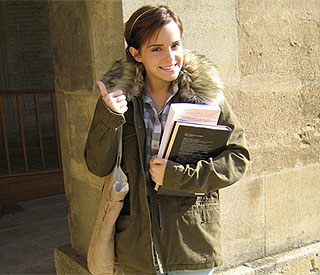 Emma Watson makes a wizard student at Oxford