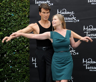 Patrick Swayze's widow in touching tribute to late star