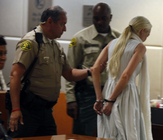 Real life drama for Lindsay Lohan in court