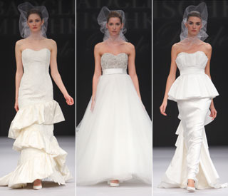 Celeb favourite Badgley Mischka's beautiful brides
