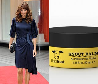 Secret's snout! Helena Christensen's canine beauty tip