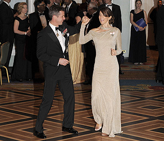 Princess Mary and Frederik have a 'Strictly' moment