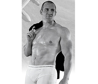 Meet Mr June: buff Mike Tindall strips off for calendar