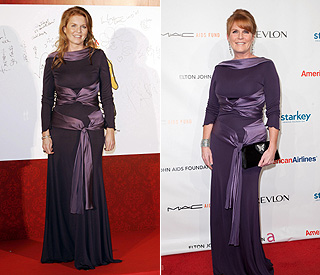 Duchess of York shows thrilling and thrifty go together