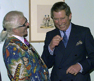 'Sad' Prince Charles pays tribute to Jimmy Savile