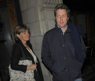 Hugh Grant visits baby at £1.2m home bought for mum